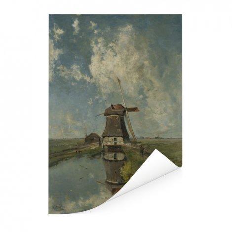 In de maand juli - Schilderij van Paul Joseph Constantin Gabriel Poster