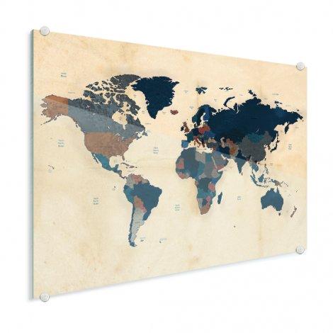 Papier historisch plexiglas