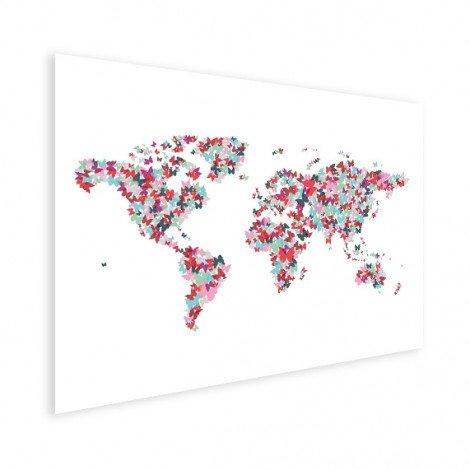 Vlinders kleur poster