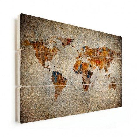 Schilderij op stof hout