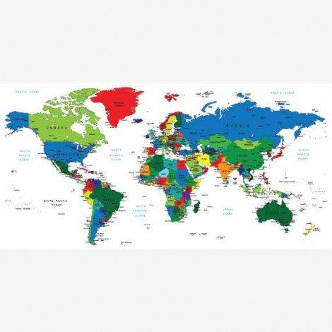 Alle landen Poster