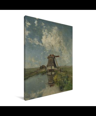 In de maand juli - Schilderij van Paul Joseph Constantin Gabriel Canvas