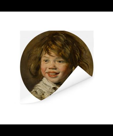 Lachende jongen - Schilderij van Frans Hals Poster