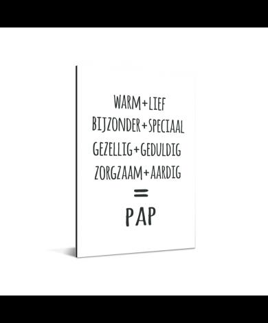 Vaderdag - Pap Aluminium