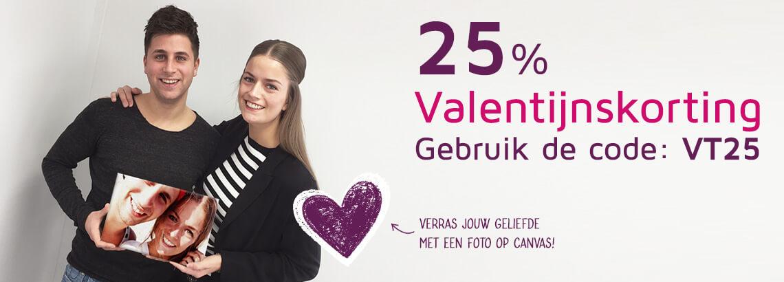 Foto op Canvas Valentijnsaanbieding