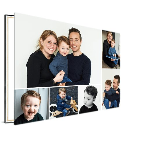 fotocollage op canvas | vanaf € 21,00 | canvascompany