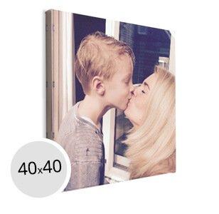 Foto op Canvas 40x40 cm