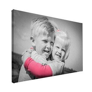 Gratis bewerkingen foto op canvas