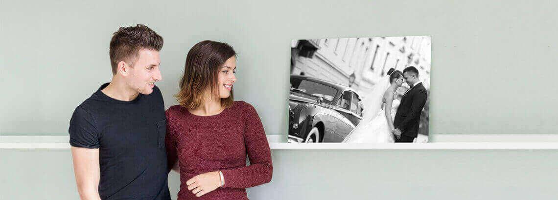 Fotoshoot fotograaf op canvas