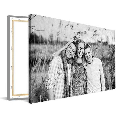 Canvasfoto met gezin
