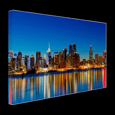 Skyline New York op canvas