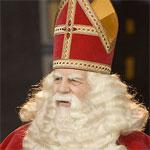 Sinterklaas foto op canvas kado