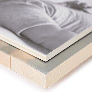 Foto op hout prijzen