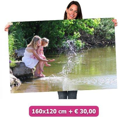 Foto op poster 160x120